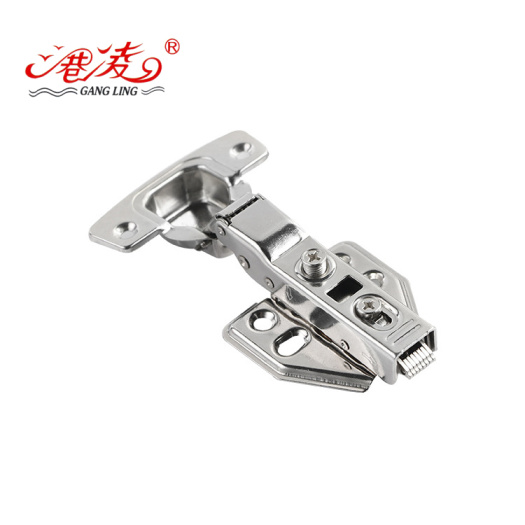 Self-discharging hydraulic hinge with stable quality