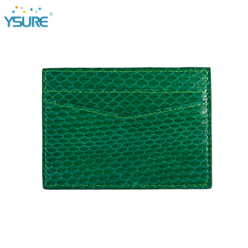 Hot Sale Simple Leather Business Credit Card Holder