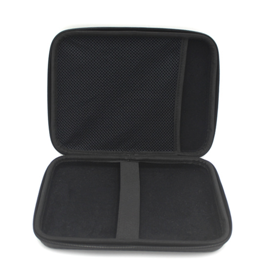 OEM factory hard shell pu leather tool case with zipper