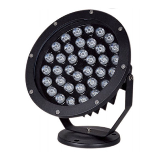 Dimmable Aluminum Black 36W CREE LED Spike Light