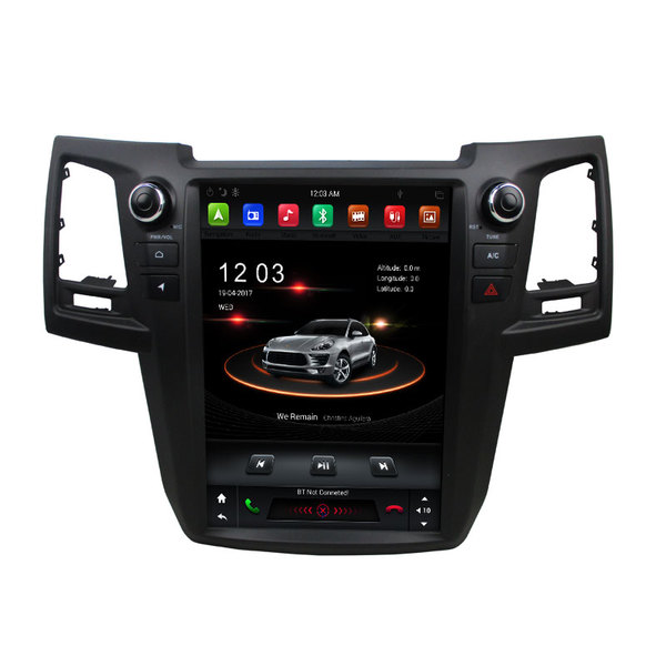 2019 New touch screen car navigation Fortuner 2015