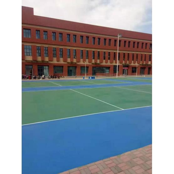 400m Standard 3:1 Pavement Materials  Courts Sports Surface Flooring Athletic Running Track