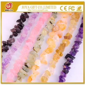 Loose Natural Rough Semi Precious stone Jewelry Beads