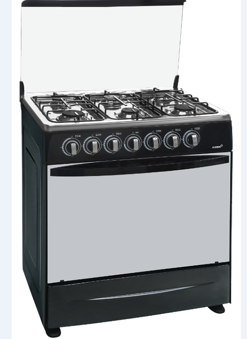 Black Freestandings Gas Cookers