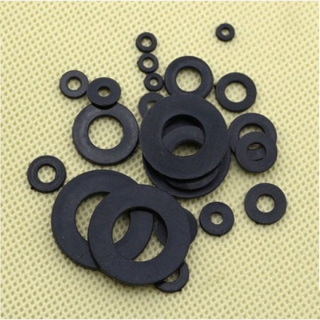 Custom-made Clear White Black Plastic Flat Nylon Washers