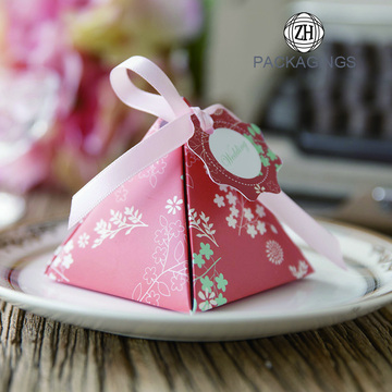Luxury mini paper candy box paper chocolate box