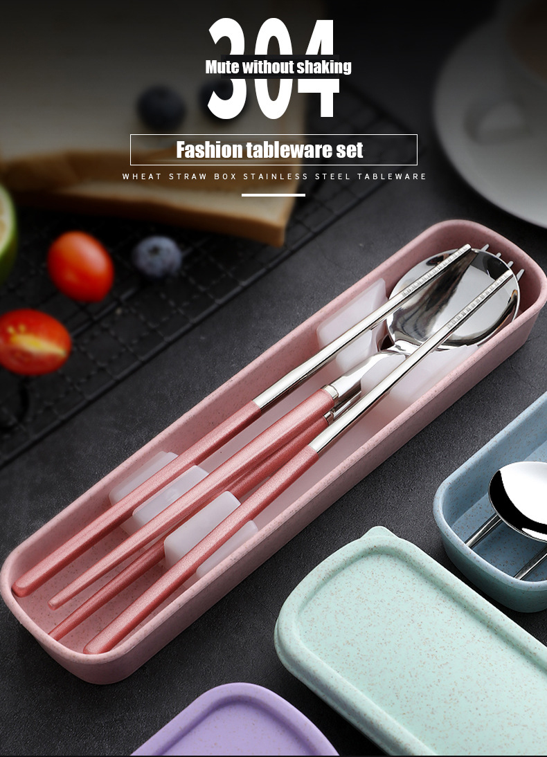 Stainless Steel Cutlery Travel Set