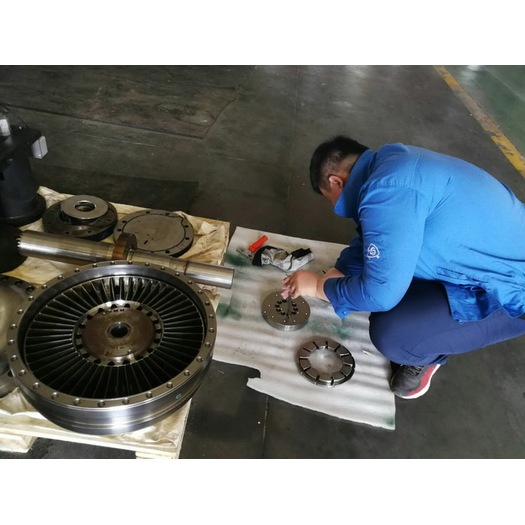 Voith Coupling Overhaul R16K400M