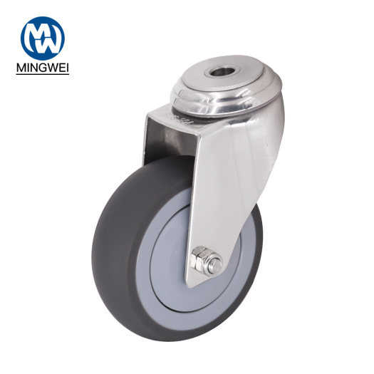 4 Inch Swivel  Bolt Hole Caster Wheels
