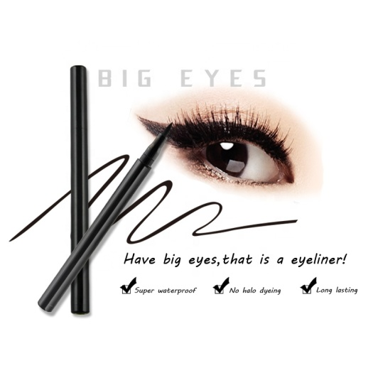 Liquid Eyeliner Waterproof Black Make Up Liner Pencil
