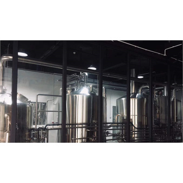 10HL 4 Vessel Automatic Beer Making Brewhouse System
