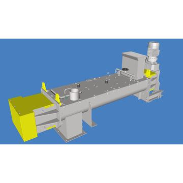Mineral Sand Rotary Paddle Mixer