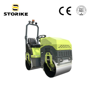 1 Ton Hydraulic Vibratory Tandem Road Roller