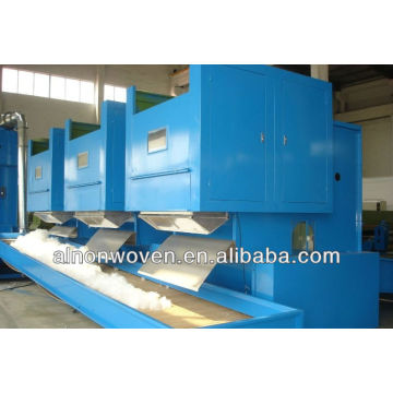 electrical weighing nonwoven bale opener