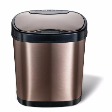 12L Golden Infrared Sensor Waste Bin Without Touch