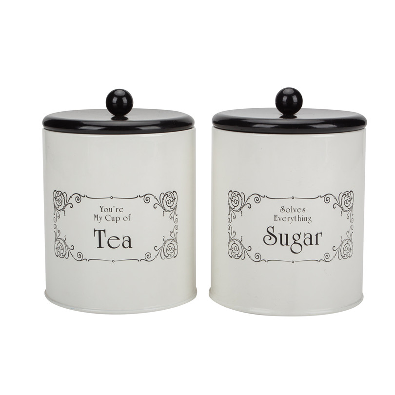 Sugar Tea Canister Set