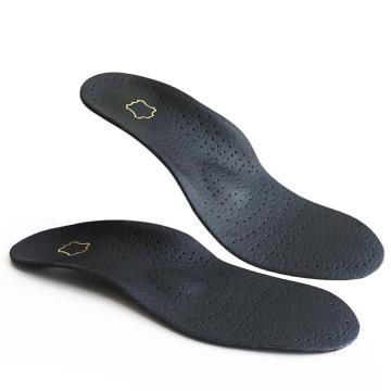 Foot care sheepskin leather arch support shoes insoles