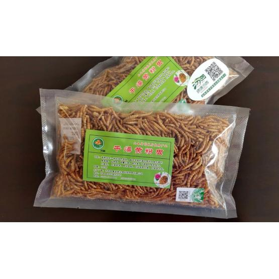 pet feed of mealworms