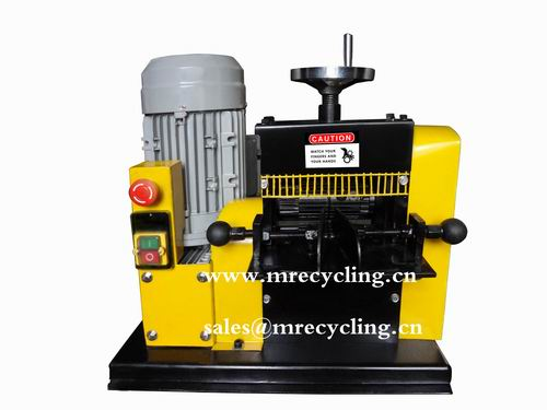 bluerock wire stripping machine