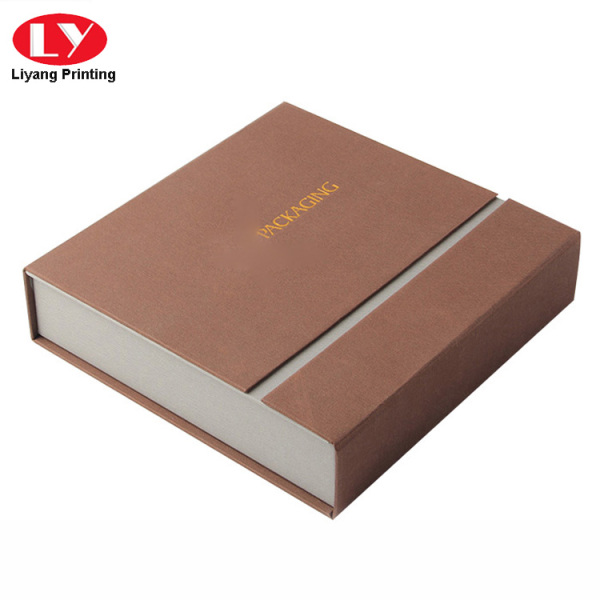 Paperboard luxury watch gift box packaging