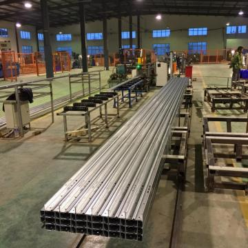 C profile metal steel purlin