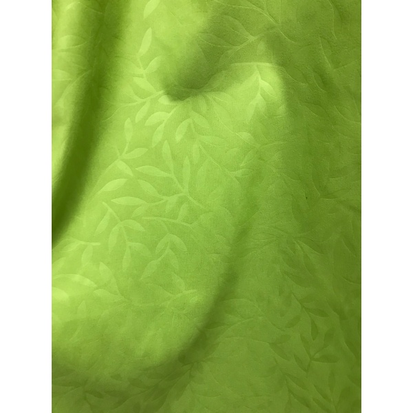 Polyester Leaves Embossed Designs