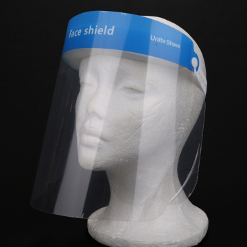Heat Resistant Face Protection Shield for Spray