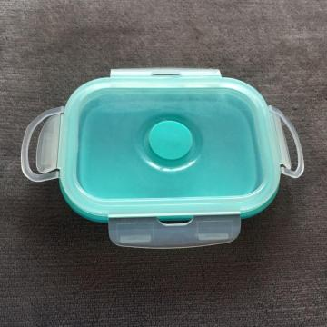 Silicone containers bento sealed storage box