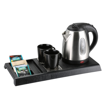 Hotel Silver 304 Stainless Steel Cordless Kettle