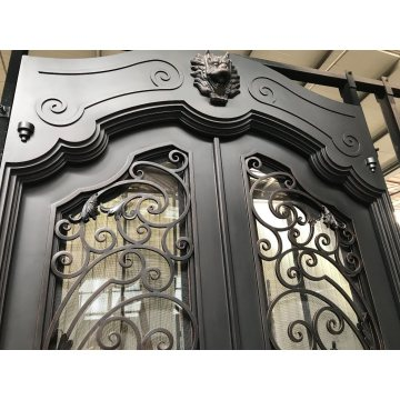 Direct Wrought Iron Door for Exterior