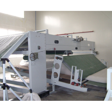 thermal bonded waddings needle punching machine