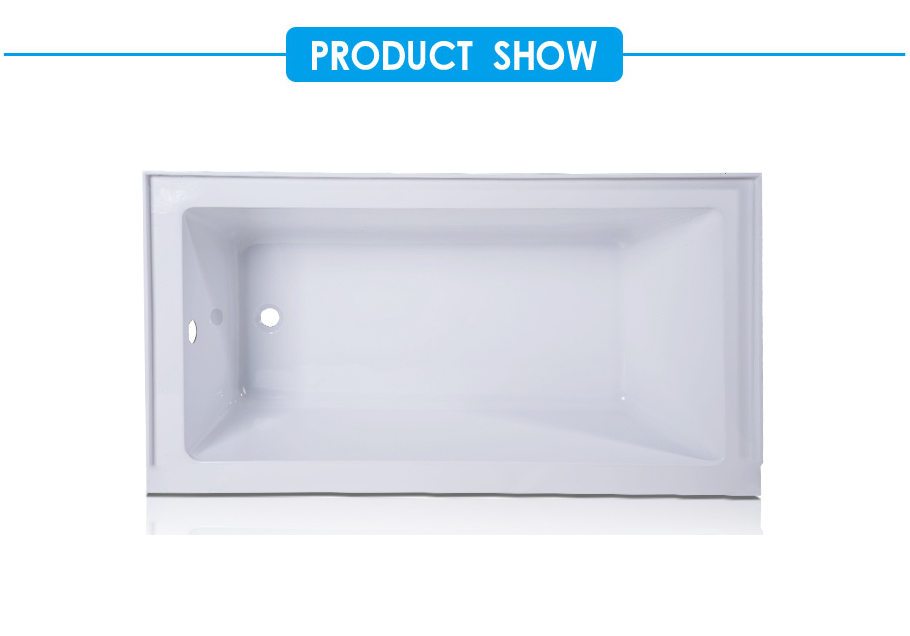 cUPC Certified Acrylic Drop-in Bath Tub