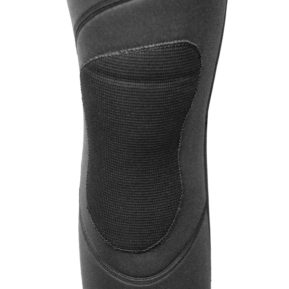 Abrasion reinforcement knee pads