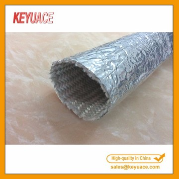 Aluminum Coated Fiberglass Heat Reflective Sleeving