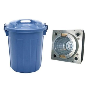Outdoor plastic garbage bin injection mould