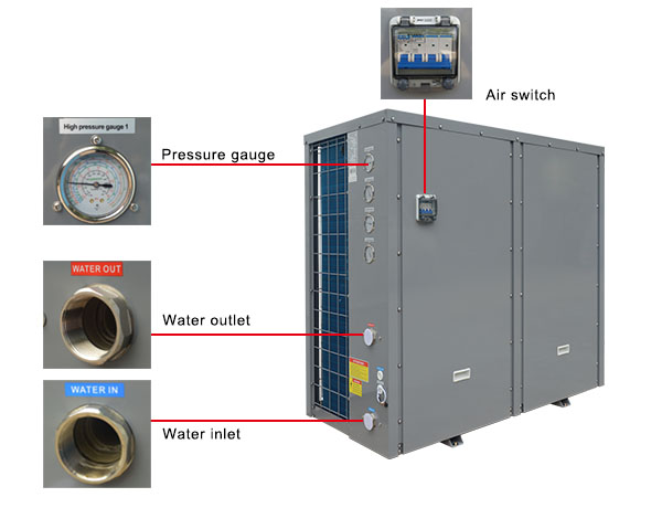 Commercial Heat Pump Air to Water