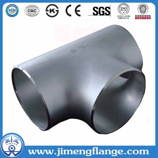 GOST Carbon Steel Galvanised Seamless Tee