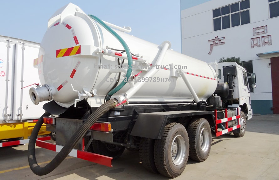 Waste Vacuum Truck Price