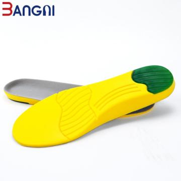 Shock-Absorb Sports Breathable PU Foam Shoe Insoles Sole