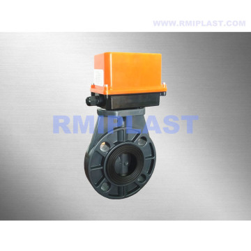 PP Butterfly Valve Electric 220VAC