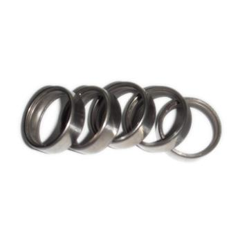 Radial ball bearing ring