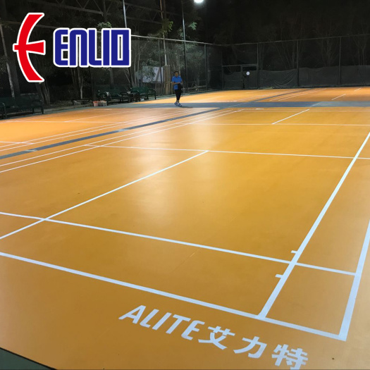 new type Indoor Badminton Mats with BWF