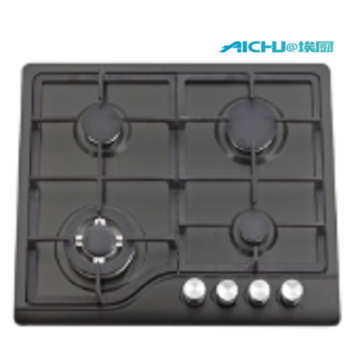 201 Level S.S Black Brushed Gas Hob