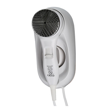 Hotel Bathroom Design 1200W Hair Dryer Wall Mounted
