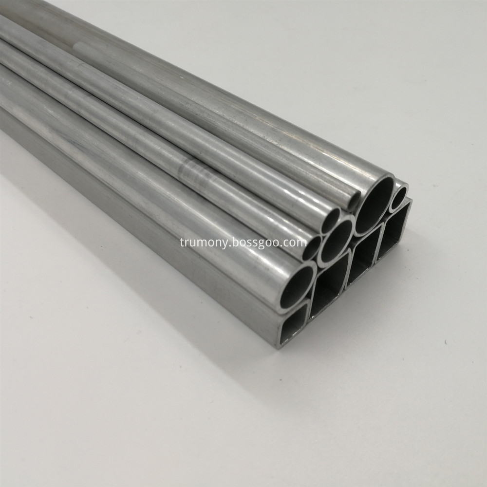 welded aluminum tube