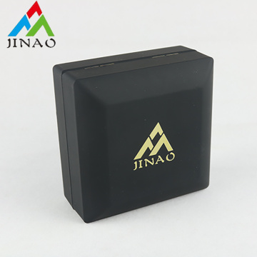 Black rectangular jewelry box for bangle