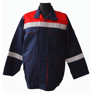 Water and oil resistant work overcoat