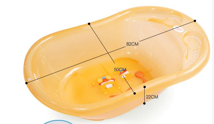 Plastic Transparent Bath Tub