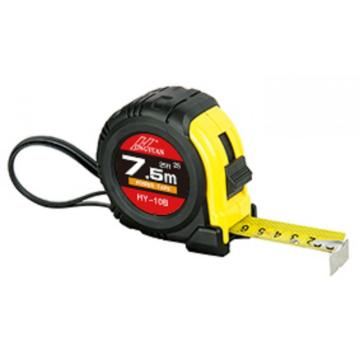 5m/19mm rubber cover Tape Measure with one stop