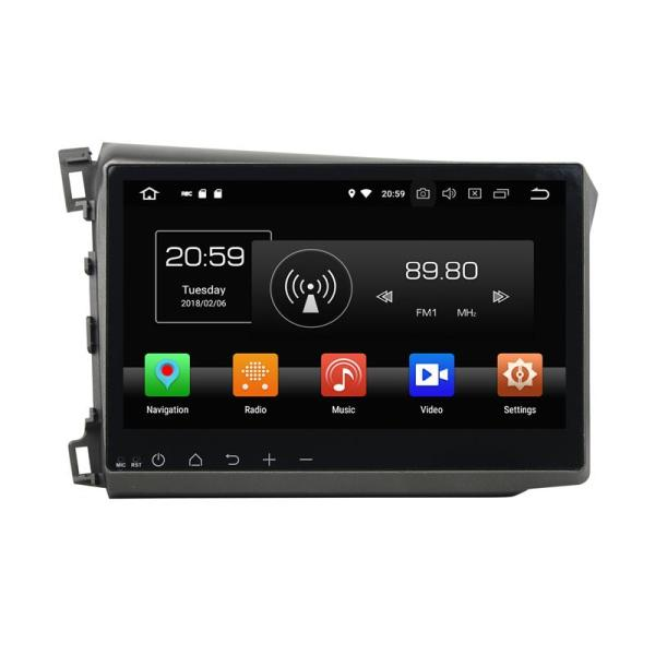 10.1 inch Deckless Car DVD For Civic 2012